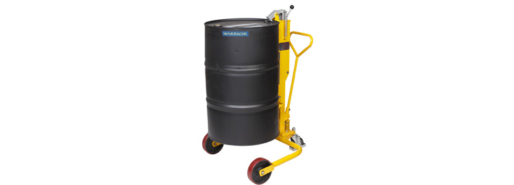 Warrior Drum Porter DT250 loaded