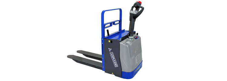 Powered Pallet Truck With Platform