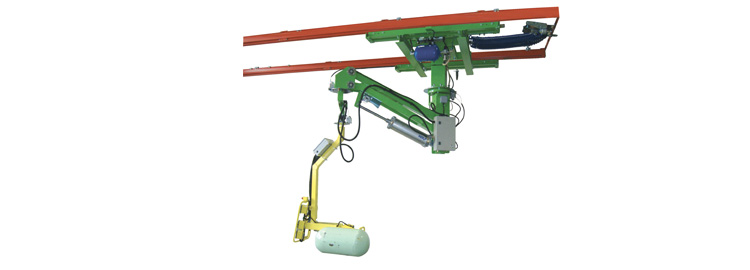 Manipulator Crane Mounted