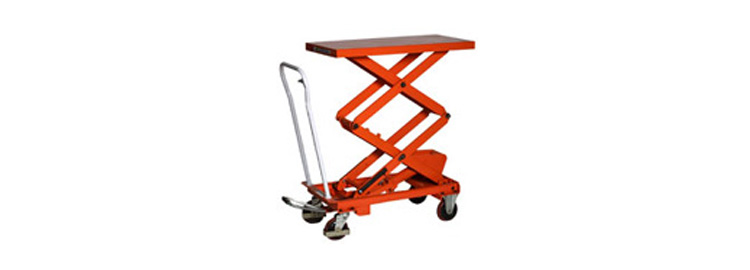 Manual Mobile Scissor Table