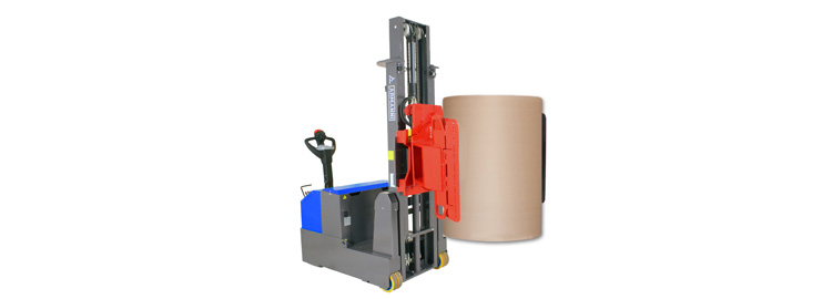 Powered Stacker With Clamp