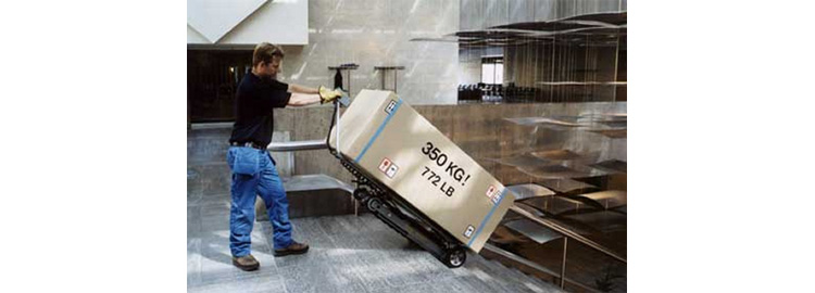 Powered Stair Climbing Truck