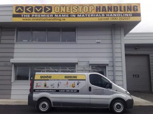 One Stop Handling Ireland Van and Office